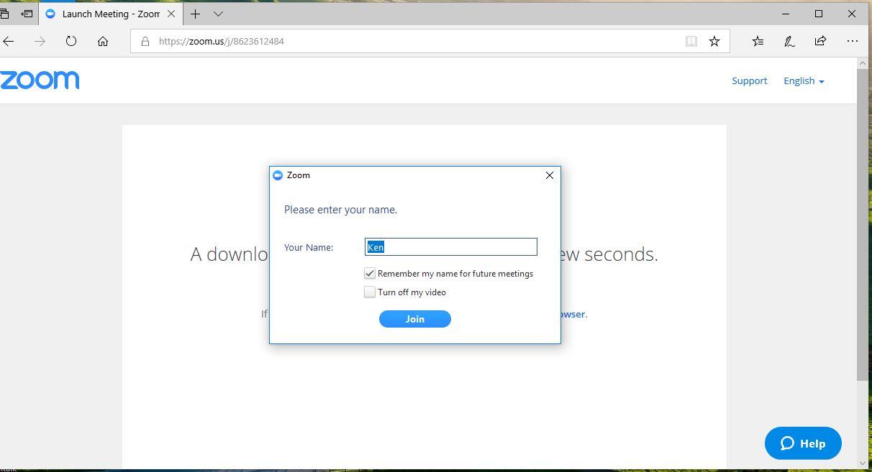 video zoom download